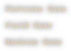 Fortress Guns
